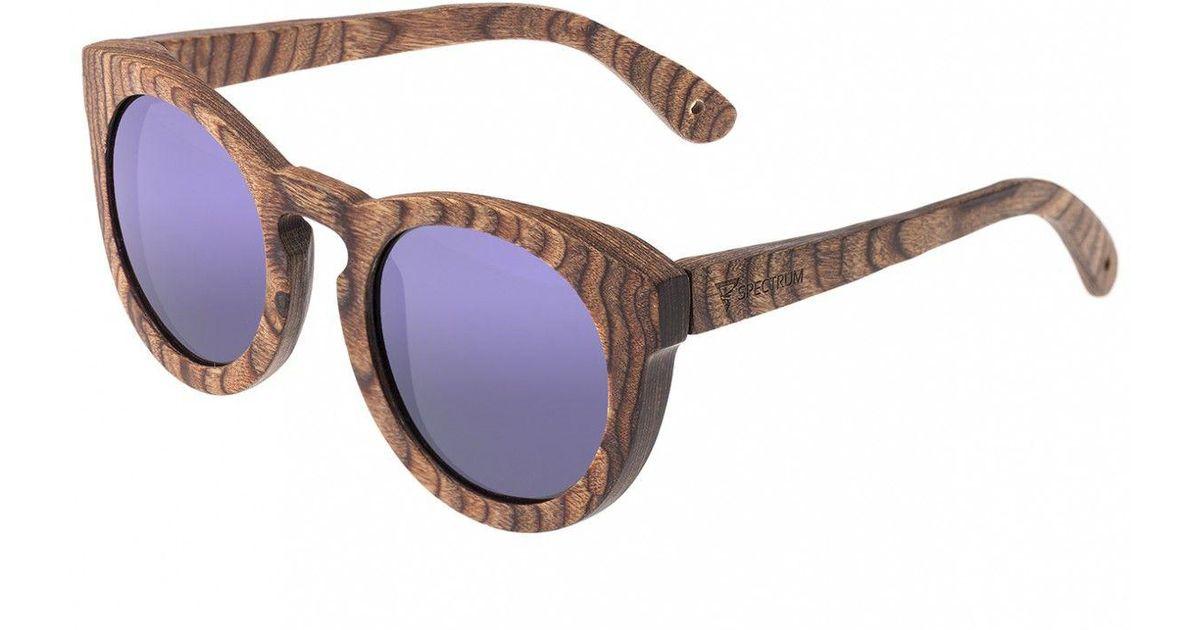 f9f25a47a0 Lyst - Spectrum Flores Wood Sunglasses