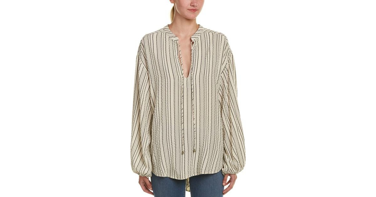 076dff2ccb76e Lyst - Free People Rhythm Of The Night Tunic in White