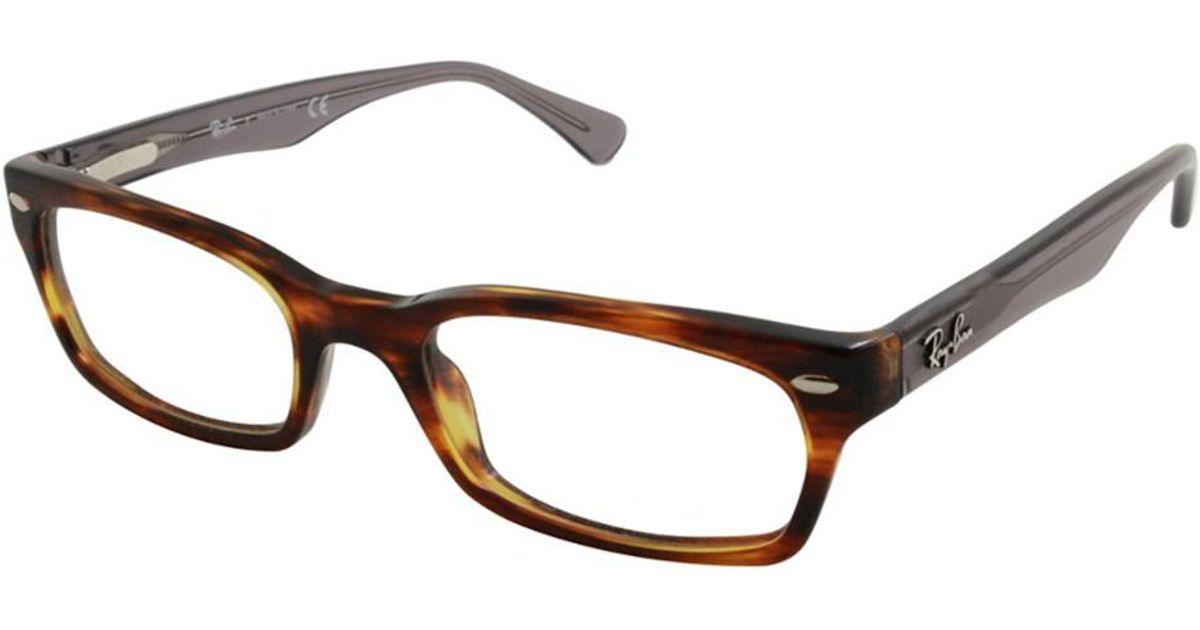 49d974c136 Lyst - Ray-Ban Women s Rx5150 50mm Optical Frames in Brown