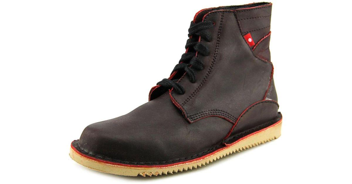71f9ece3ef8 Oliberte - Black Gando Men Round Toe Leather Boot for Men - Lyst