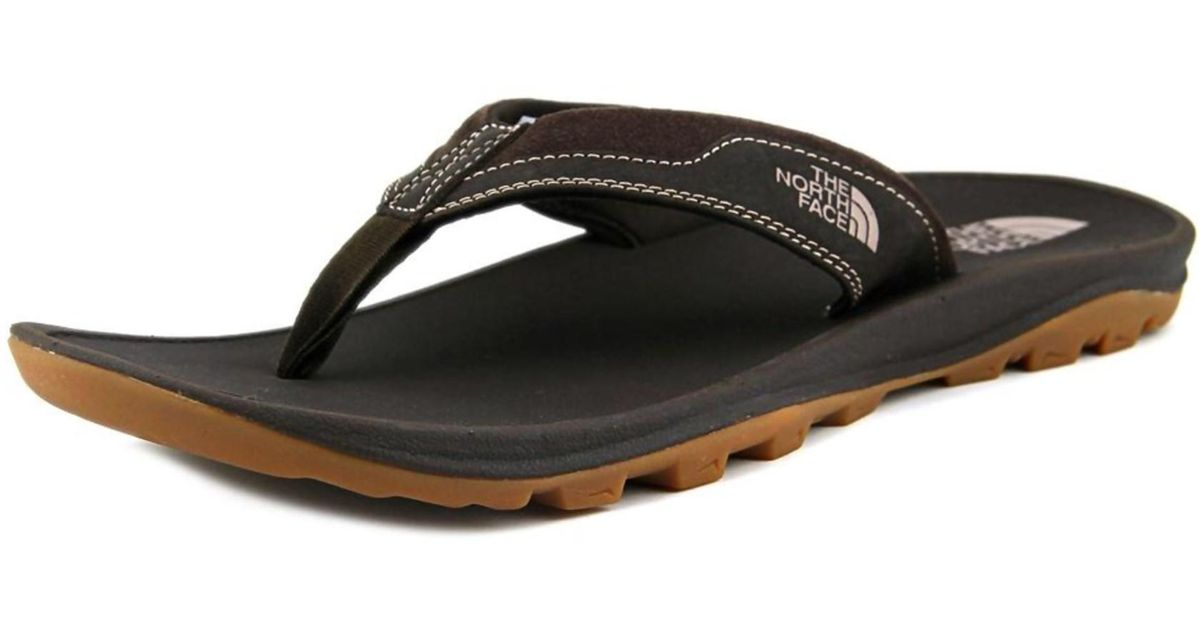 634698d76 The North Face | Brown Hedgehog 3-point Round Toe Leather Water Shoe for  Men | Lyst