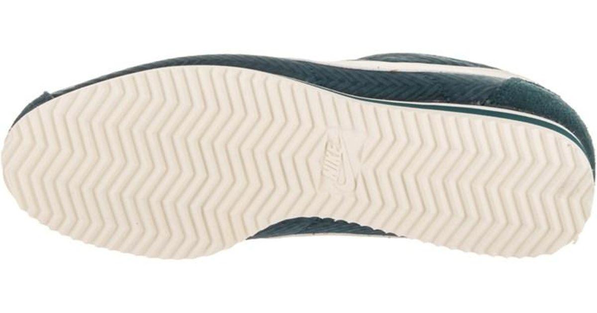 9cb83e6bc796 Lyst - Nike Women s Classic Cortez Txt Casual Shoe in Green