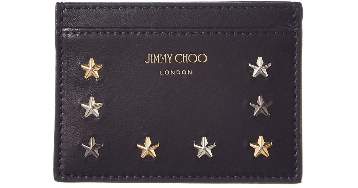 star embellished wallet - Black Jimmy Choo London a7uQrPVu