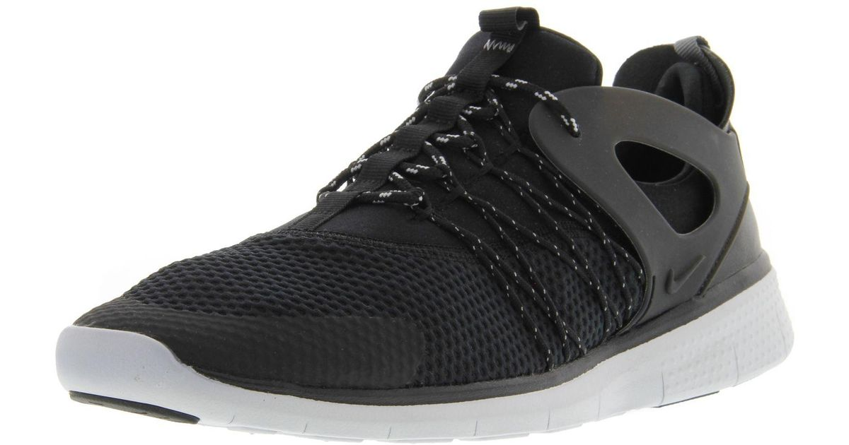 b7b13aca54c49 Lyst - Nike Women s Free Viritous Black   - Cool Grey Pure Platinum  Ankle-high Running Shoe 10m in Black