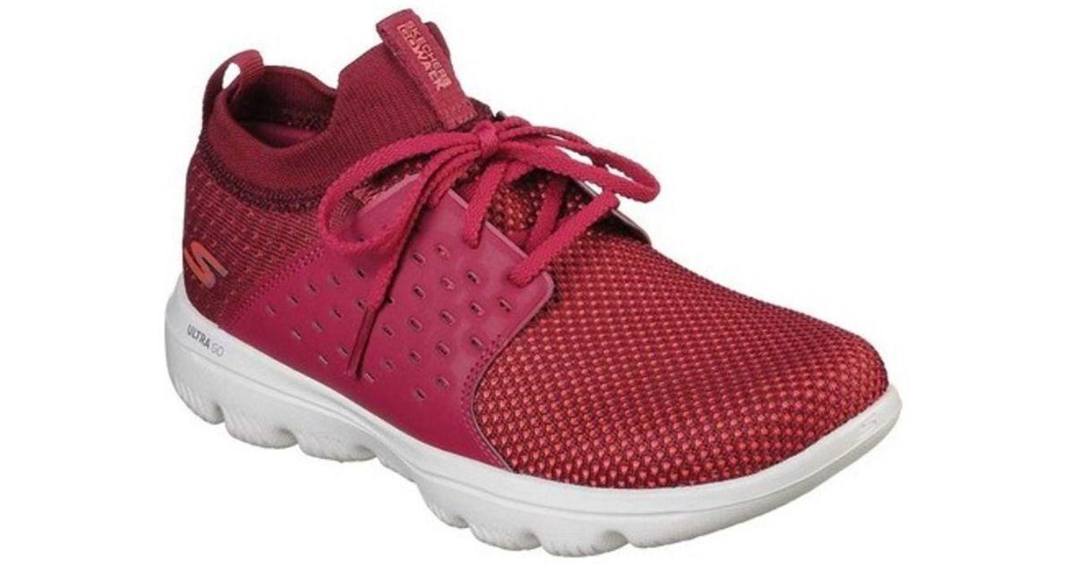 Sale Online 2018 New Sale Online Skechers GOwalk Evolution Ultra Turbo Walking Shoe(Women's) -Black/Hot Pink Outlet Cost Clearance Newest Amazon Online NFnrpPqa