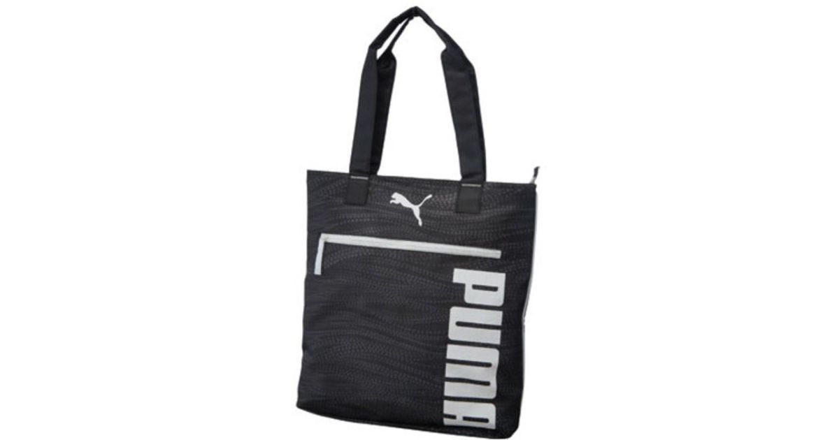 315943b17c Puma Women s Fundamentals Shopper in Black - Lyst