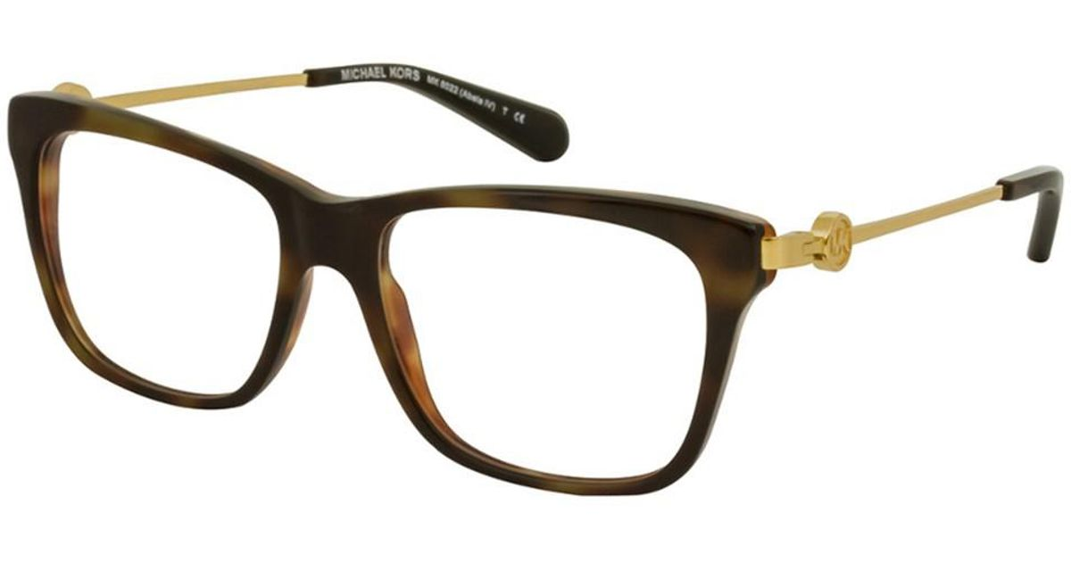 Lyst - Michael Kors Women\'s Mk8022 52mm Optical Frames in Brown
