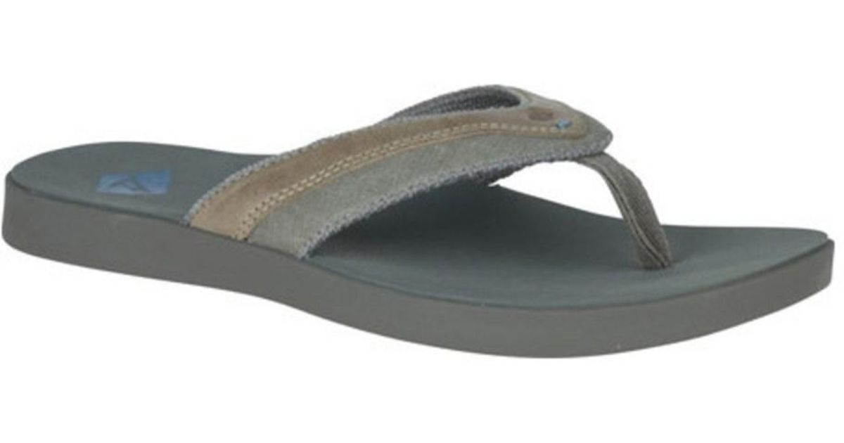 d692dc25d4b Lyst - Sperry Top-Sider Men s Wahoo Thong Sandal in Gray for Men