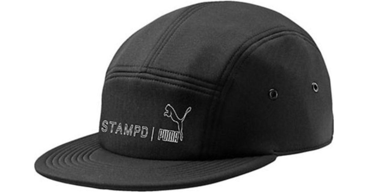 Lyst - Puma Unisex Stampd Cap in Black for Men 83e6dac9d00