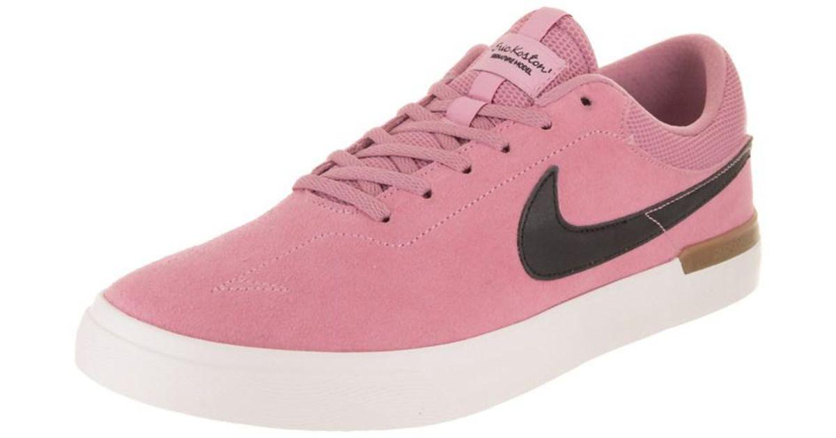c03a0858aa312 Lyst - Nike Men s Sb Koston Hypervulc Skate Shoe in Pink for Men