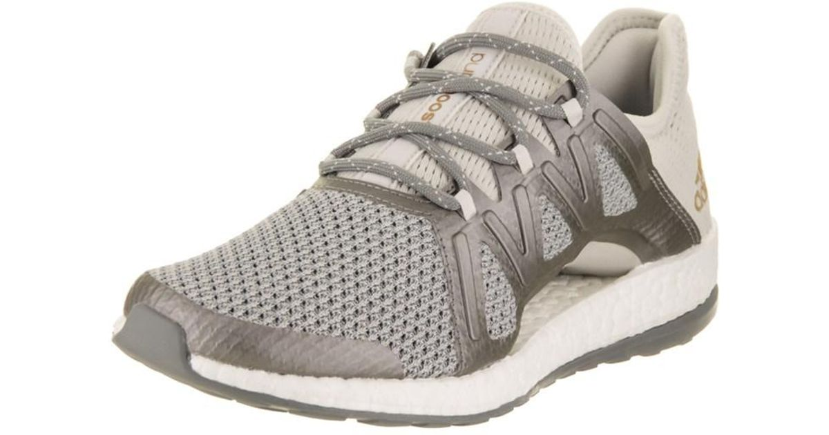 e92e76d6c Lyst - Adidas Originals Women s Pureboost Xpose Running Shoe in Gray