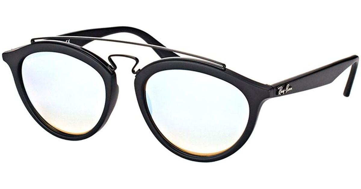 760614ba55 Lyst - Ray-Ban Rb4257 6252b8 53mm Gatsby Ii Matte Black Sunglasses in Black