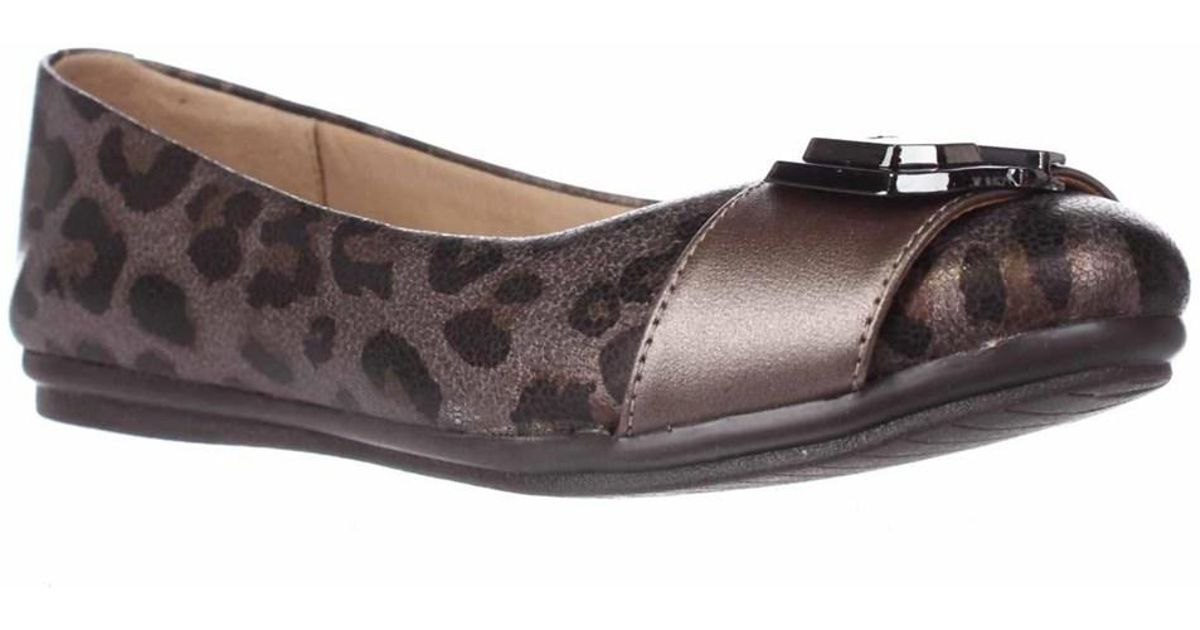 c9ffd935eb50 Lyst - Easy Spirit Gianetta Ballet Flats - Pewter Multi pewter in Metallic