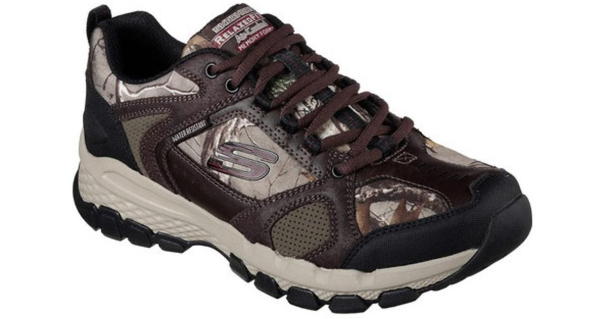 b8407c51bb71 Lyst - Skechers Men s Relaxed Fit Outland 2.0 Trail Shoe in Brown for Men