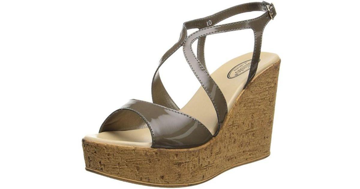 0e0250119a7d Lyst - Callisto Womens Elliot Open Toe Casual Platform Sandals in Brown