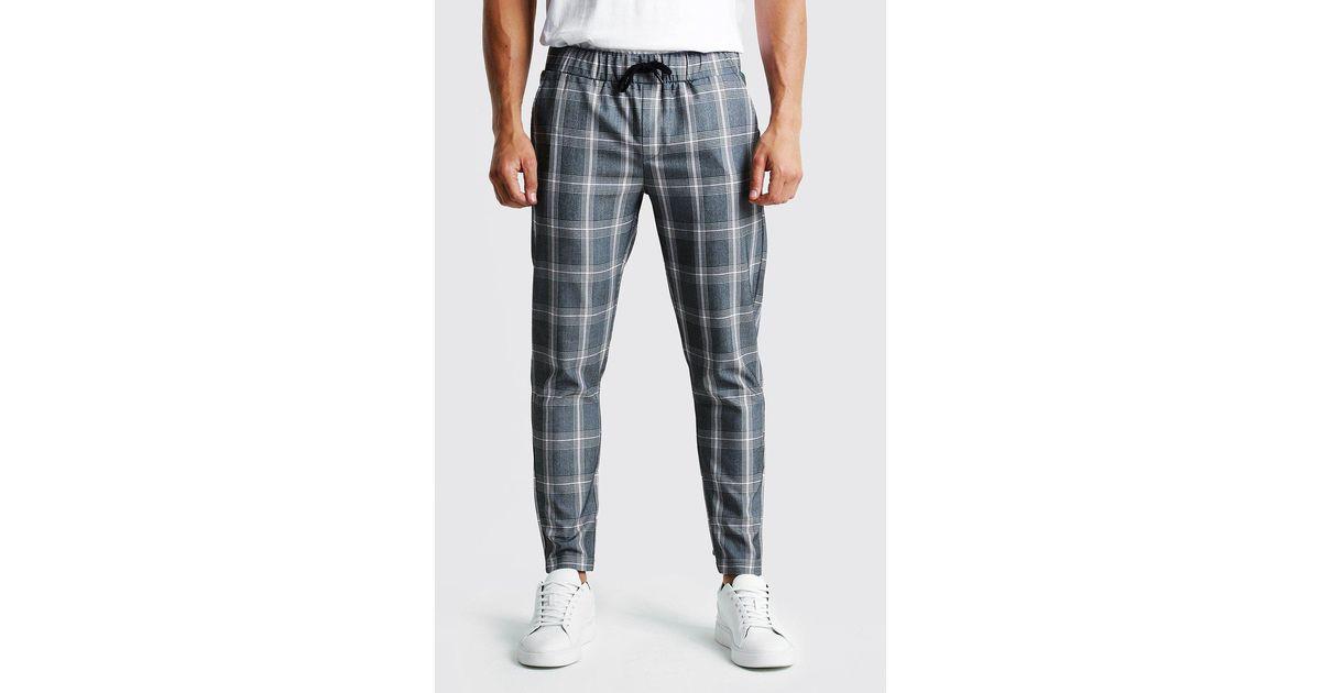 Brand MERAKI Mens Skinny Fit Smart Pintuck Trousers