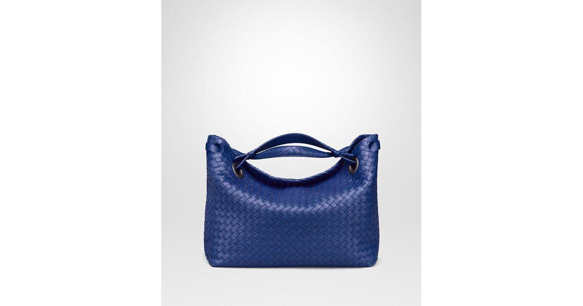 Bottega Veneta Cobalt Intrecciato Nappa Medium Garda Bag in Blue - Lyst 30df493d5e589