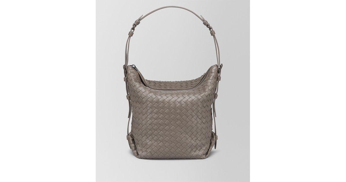 Bottega Veneta Steel Intrecciato Nappa Medium Osaka Bag in Gray - Lyst 6296d5dd52814