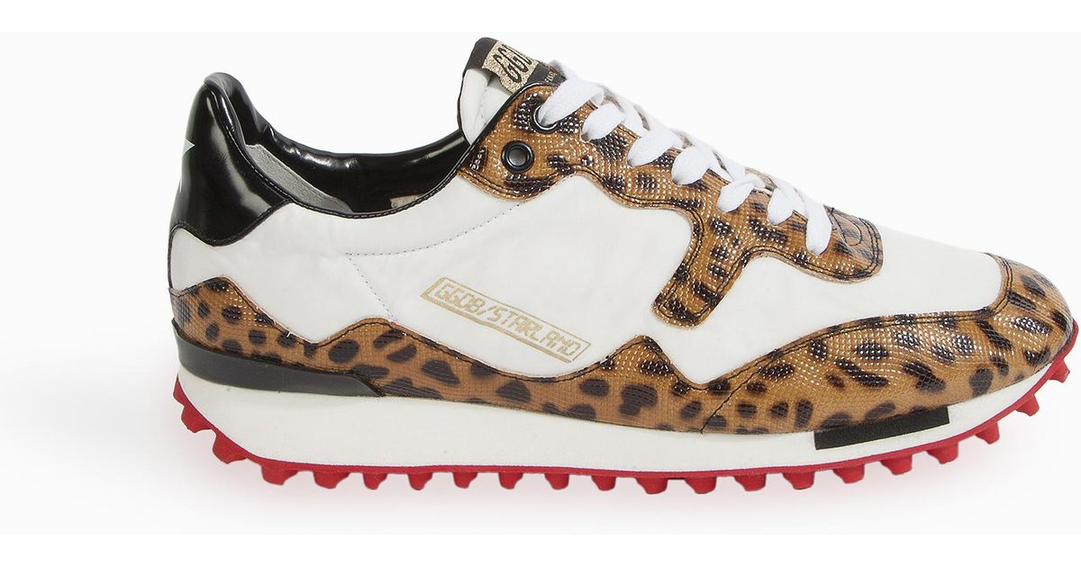 Goose Starland Leopard Trainers