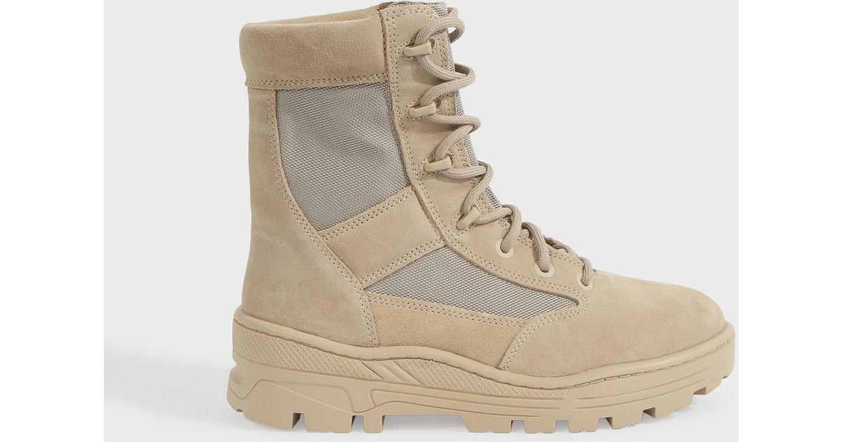 c979d7e91feb4 Lyst - Yeezy Men s Light Combat Boots for Men