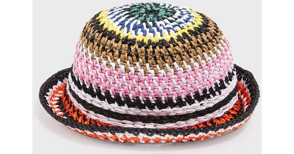 Lyst - Missoni Multi Weave Bucket Hat 5d8f04f6ea9