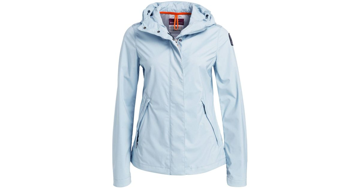 wholesale dealer cfed2 78b81 Parajumpers Blue Softshell-Jacke CECILIA