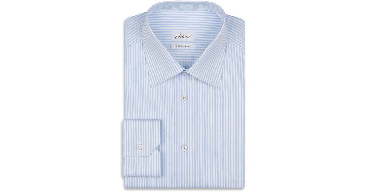Brioni Men/'s Pink Micro Check 100/% Cotton Striped Pajamas