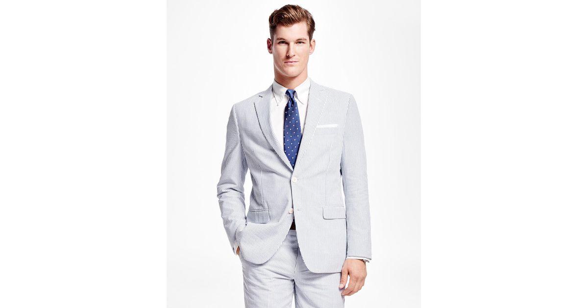 seersucker suit mens brooks brothers
