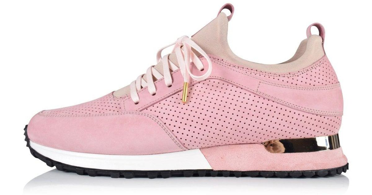 Mallet Suede Archway 1.0 Pink Trainers