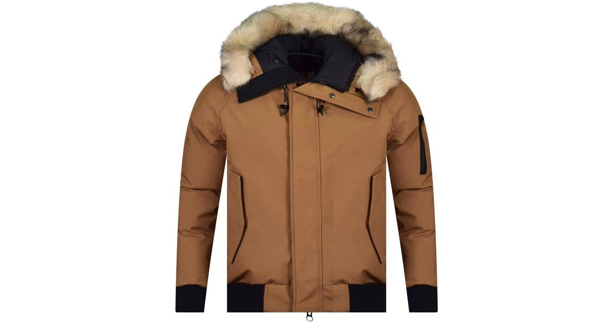 223186e6c KENZO Brown Padded Zipped Jacket for men