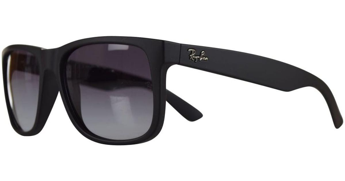 a8806184b936 Ray-Ban Ray Ban Sunglasses Matte Black Rubber Wayfarer Sunglasses in Black  for Men - Lyst