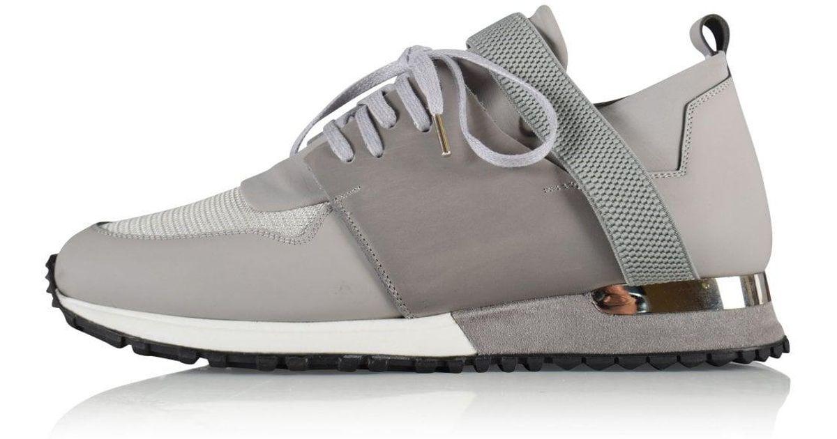 Grey Btlr Elast Trainers in Gray