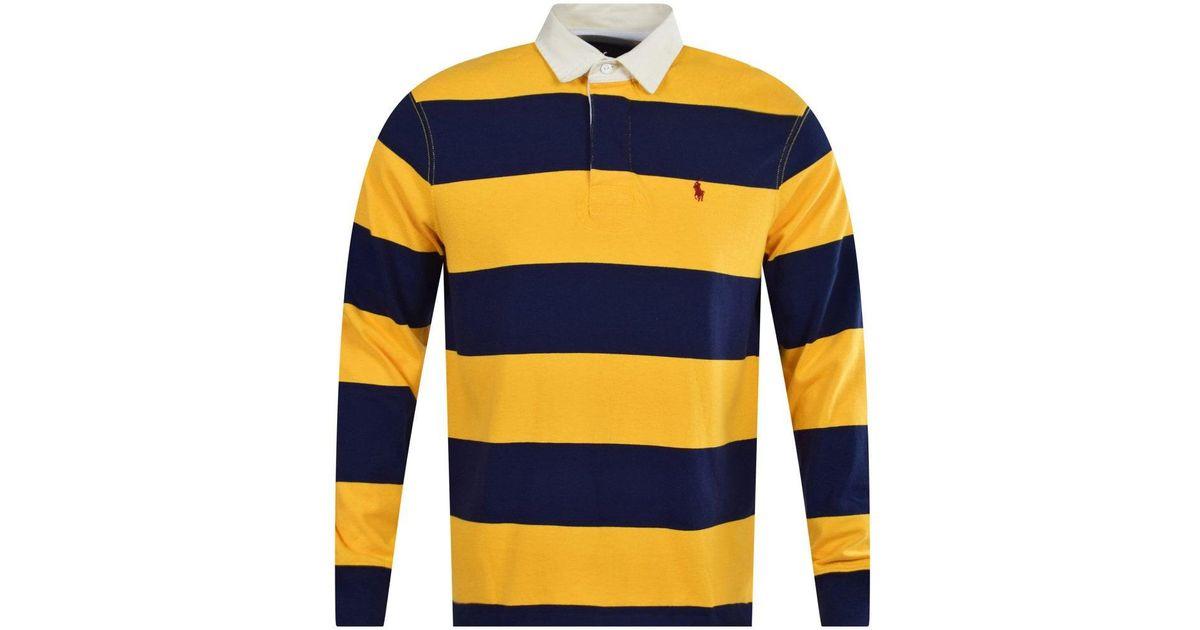 Polo Ralph Lauren Blue Yellow Stripe