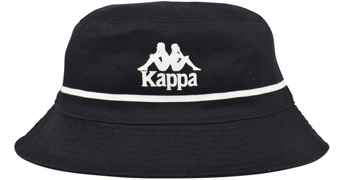 a8da398bcc Kappa Authentic Bucketo Bucket Hat With Embroidered Logo In Black for men