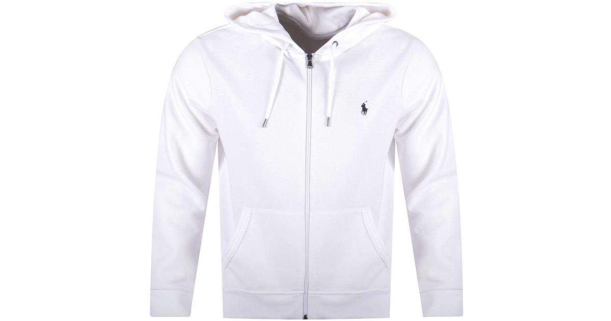 Up Ralph Zip White Polo For Men Lauren Hoodie R3AjL54q