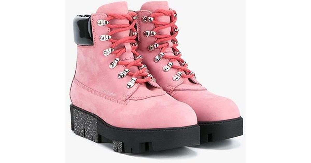 83e7153b816 Acne Studios Multicolor Telde Hiking Boots