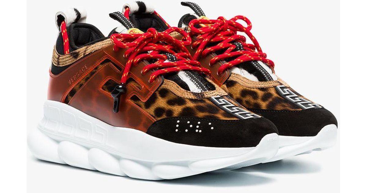 versace chain reaction cheetah