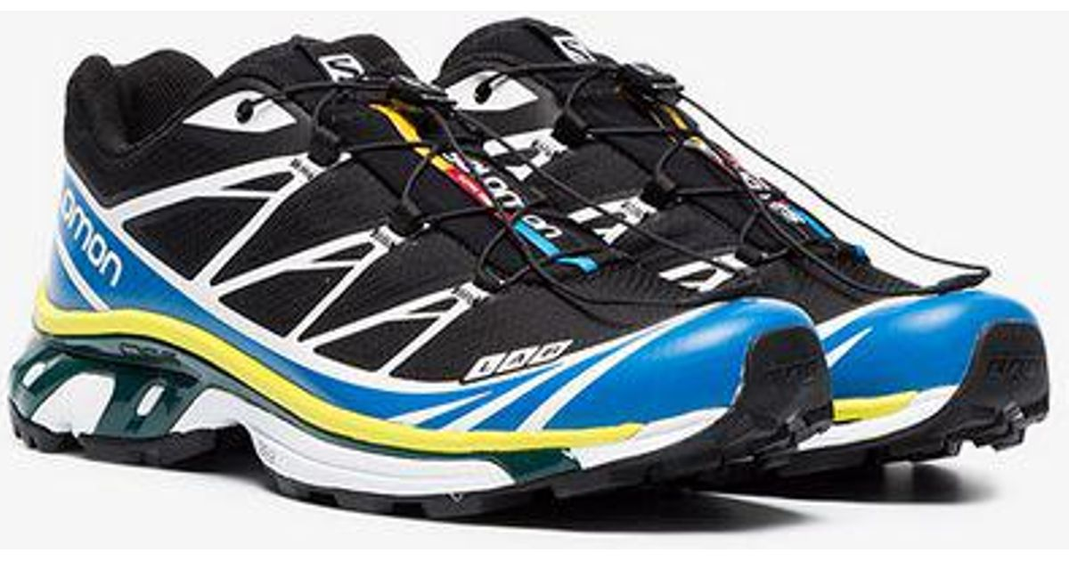 size 40 9dbcf 23360 Salomon S LAB Black, Yellow And Blue Xt-6 Adv Sneakers in Black for Men -  Lyst