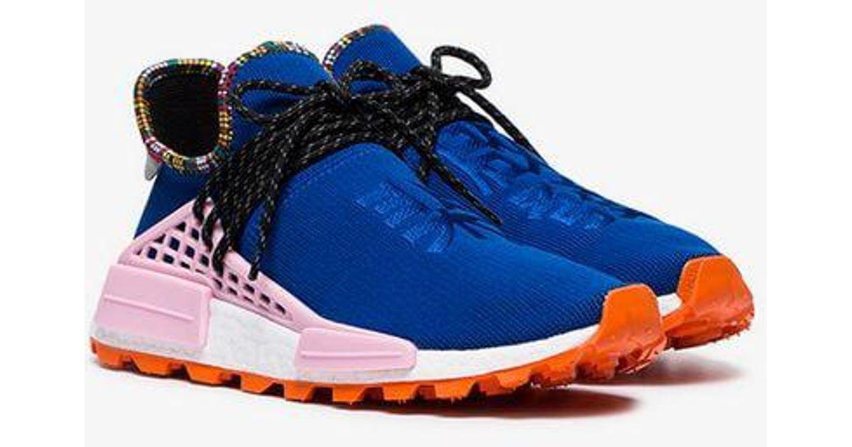 b306eb98b adidas X Pharrell Williams Blue Human Body Nmd Sneakers in Blue for Men -  Lyst