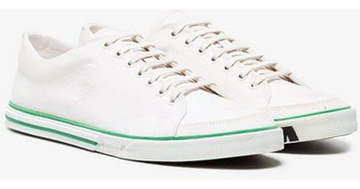 c97c822a796d Balenciaga Match Low Logo Sole Distressed Sneakers in White for Men - Lyst