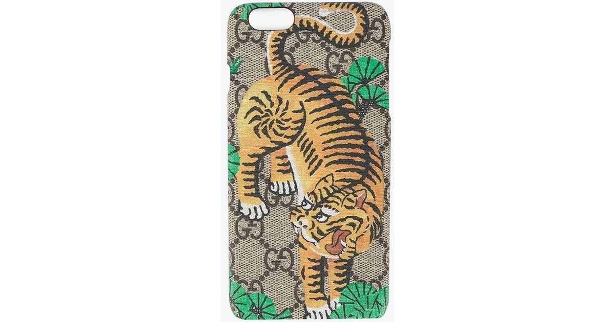 new concept c271e 300e7 Gucci Multicolor Bengal Tiger Iphone 6+ Case