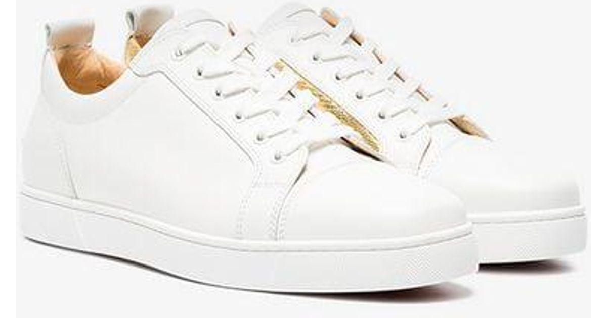 25869c34a04 Christian Louboutin - White Yang Louis Junior Sneakers for Men - Lyst