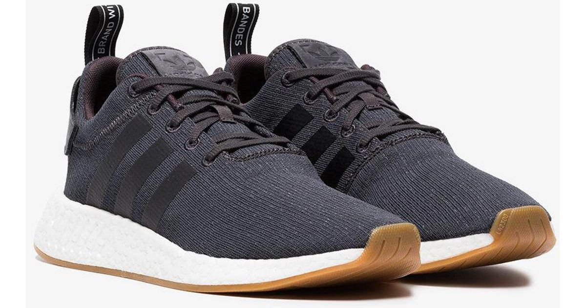 4c5ee0c7e6b6 Lyst - adidas Grey Nmd R2 Sneakers in Gray for Men