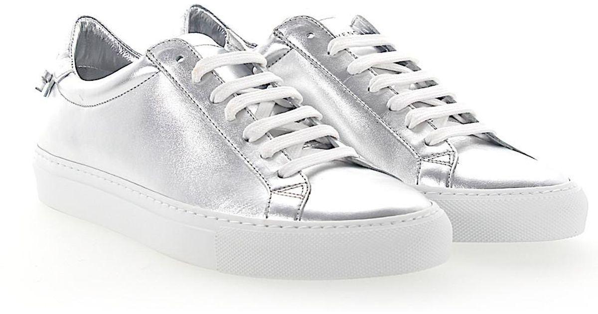 Givenchy Sneakers URBAN STREET smooth leather Metallic 5LrDuzYnBj