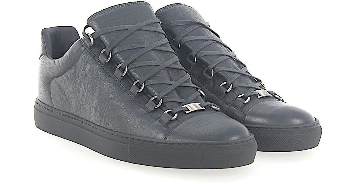 Balenciaga Leather Sneaker Arena Low