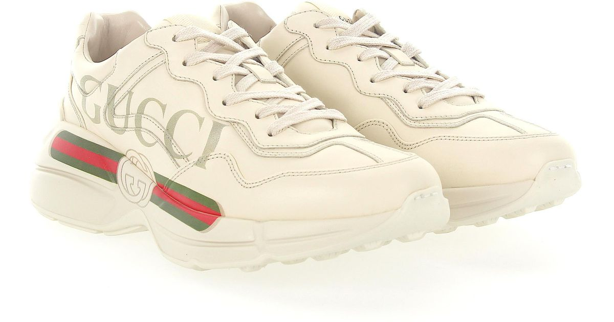 Gucci Sneaker Rython 500877 Leather