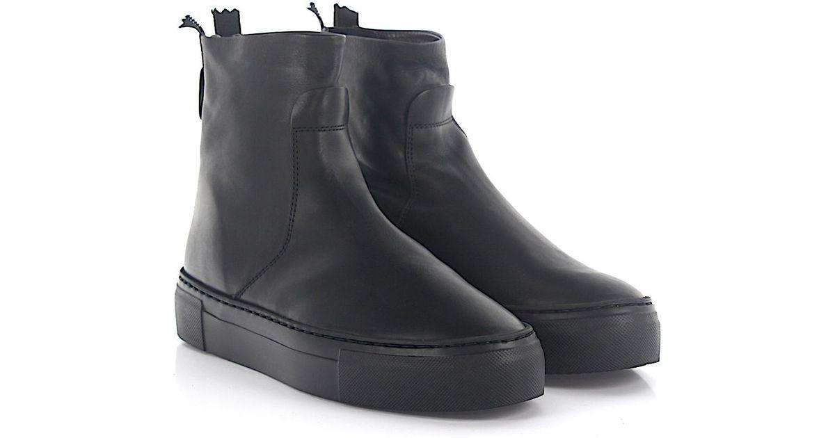 AGL ATTILIO GIUSTI LEOMBRUNI Boots D92550 suede lambskin yC07y