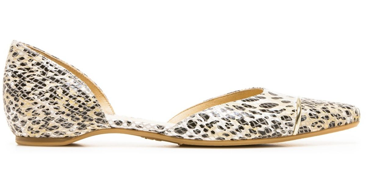 a54ee23f4bd Lyst - Stuart Weitzman The Tipantibe D Orsay in Natural