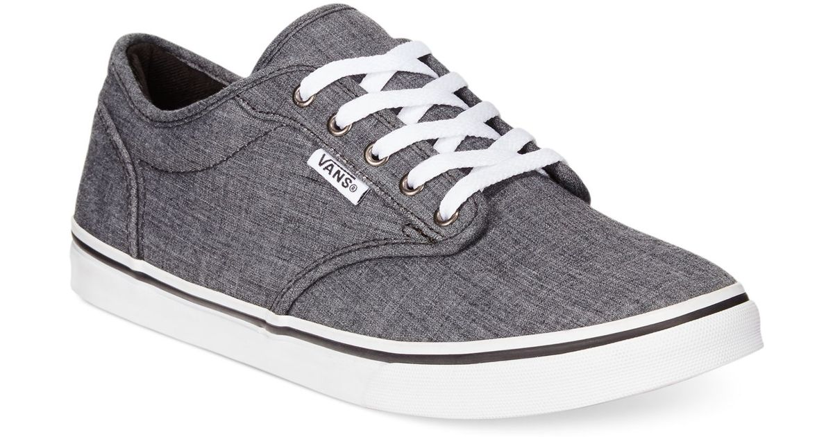 Atwood Low Lace-up Sneakers in Gray - Lyst