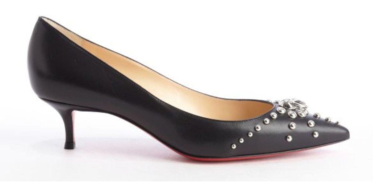 newest 79e47 5a789 promo code christian louboutin kitten heels 97cb1 8c455